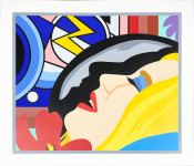 Bedroom Face with Lichtenstein