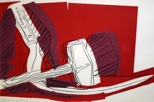 Andy Warhol, Hammer and Sickle (FS II.162), 1977