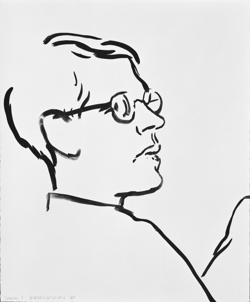 David Hockney, James, 1981