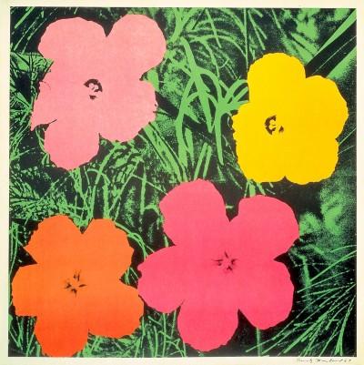 Andy Warhol-Flowers 1964