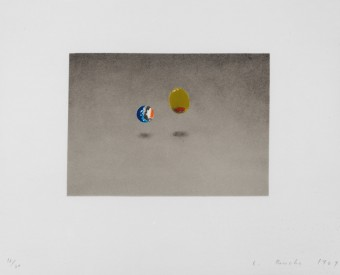 Marble, Olive by Ed Ruscha