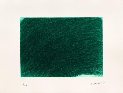 Arnulf Rainer, Ciel Vert, 1988-2017