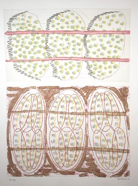 Luis Gordillo, Untitled, 1990