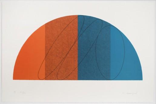 Robert Mangold, Semi-Circle III, 1995