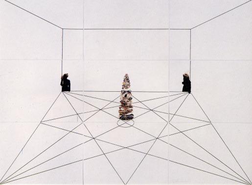 Giulio Paolini, Palais des Thés, 1991