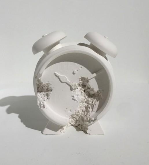 Daniel Arsham, Clock (Future Relic DAFR-03), 2015