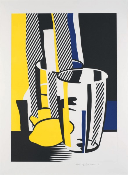Roy Lichtenstein, Before the Mirror, 1975