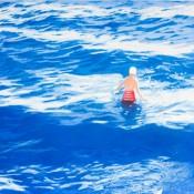 Wading II (Blue)