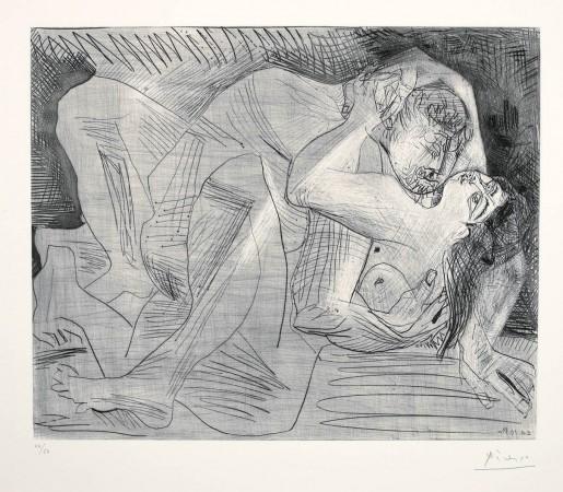 Pablo Picasso, Etreinte (Etreinte IV), 1963