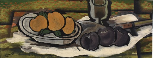 Georges Braque, Nature Morte aux Fruits, 1955