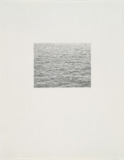 Drypoint - Ocean Surface (Second State)