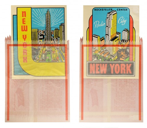 Joe Tilson, New York Decals 3 and 4, 1967