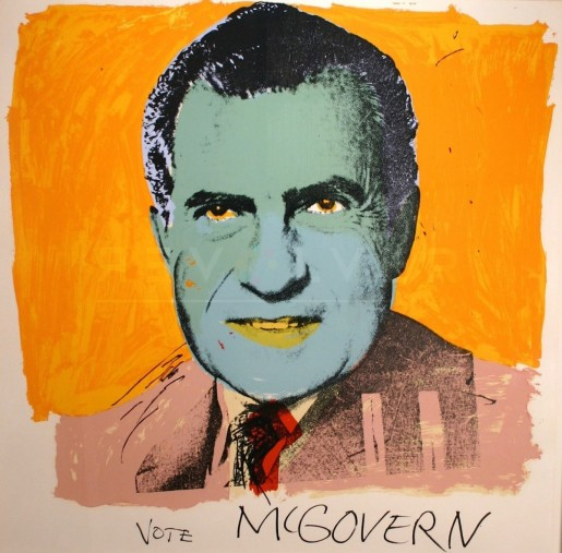 Andy Warhol, Vote McGovern (FS II.84), 1972