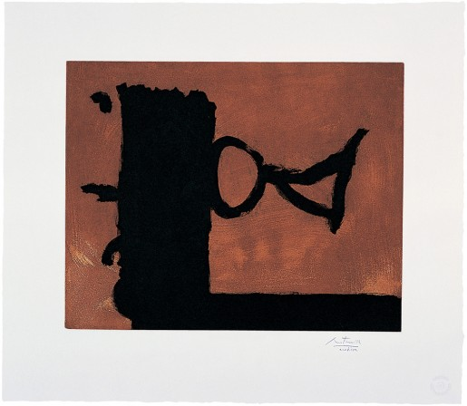 Robert Motherwell, The Razor's Edge, 1986