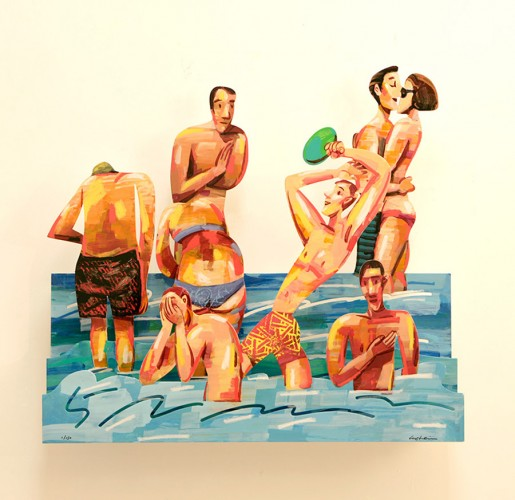 David Gerstein, Sun of the Beach 5, 2014