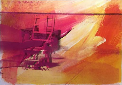 Andy Warhol, Electric Chairs (FS II.81), 1971