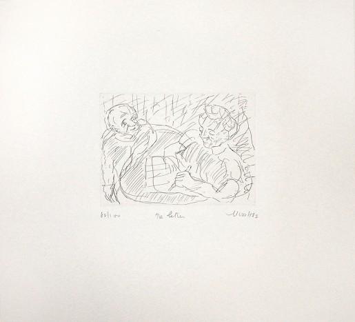 Leon Kossoff, The Letter, 1982