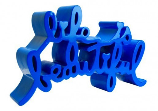 Mr. Brainwash, Life Is Beautiful (blue), 2015