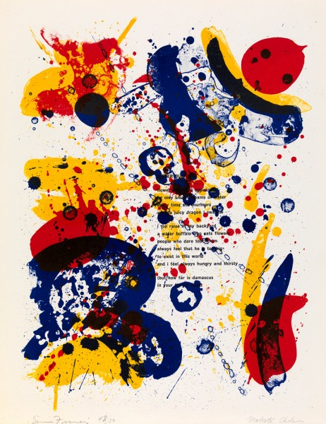 Sam Francis, Water Buffalo, 1964
