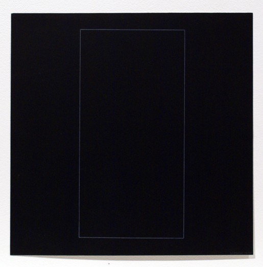 Sol LeWitt, Six Geometric Figures - Rectangle, 1977
