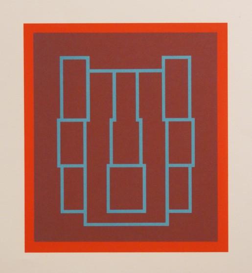 Robyn Denny, Portraits (Series A), IV, 1970