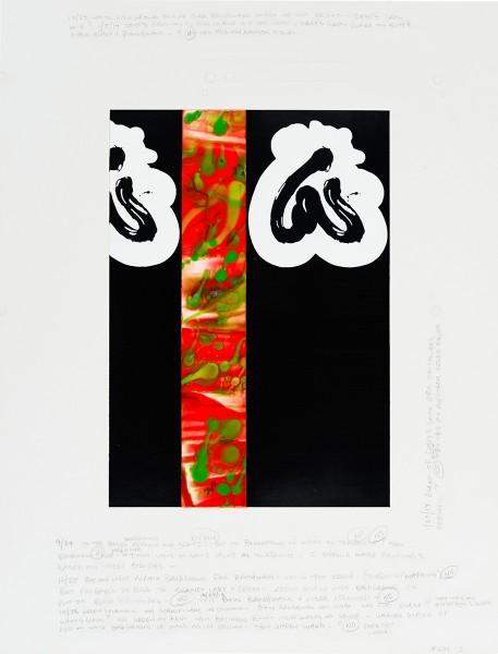 David Reed, Color Study #19, 2014
