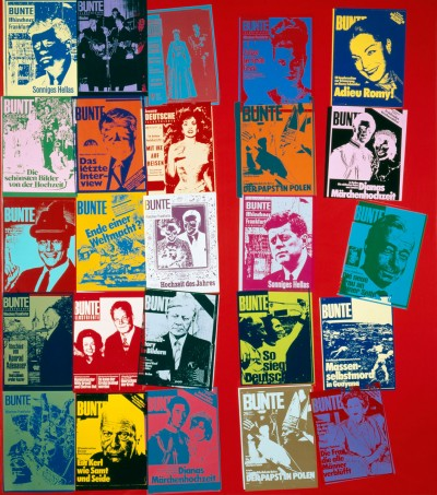 Andy Warhol-Magazine and History, FS II.304 A (BUNTE Magazine)