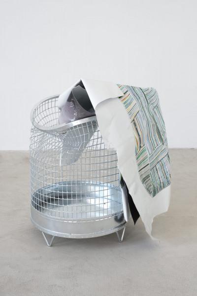 Olaf Metzel, Papierkorb, 2019