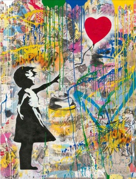 Mr. Brainwash, Balloon Girl, 2018