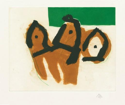 Robert Motherwell, Sirens II, 1988