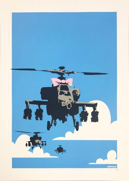 Banksy, Happy Chopper, 2004