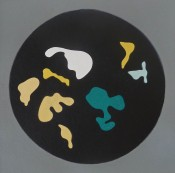 Untitled, from Le Soleil Recerclé (Black Circle Small Shapes)