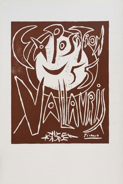 Pablo Picasso, Exposition 55 Vallauris, 1955