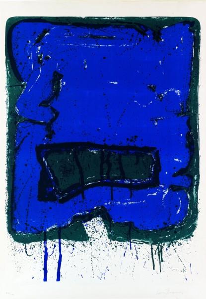 Sam Francis, Affiche Kunsthalle Bern, 1960