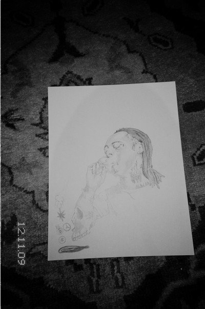 Ari Marcopoulos, Untitled (Lil Wayne), 2010