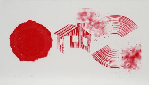 James Rosenquist, Hot Lake (2nd State), 1978