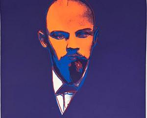 Lenin (FS IIB. 402) by Andy Warhol