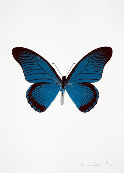Damien Hirst, The Souls IV - Turquoise/Burgundy/Silver Gloss, 2010