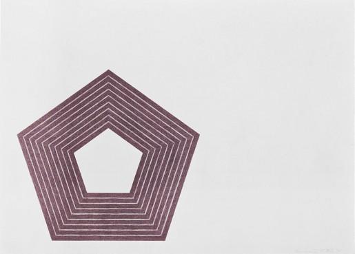 Frank Stella, Charlotte Tokayer, 1972