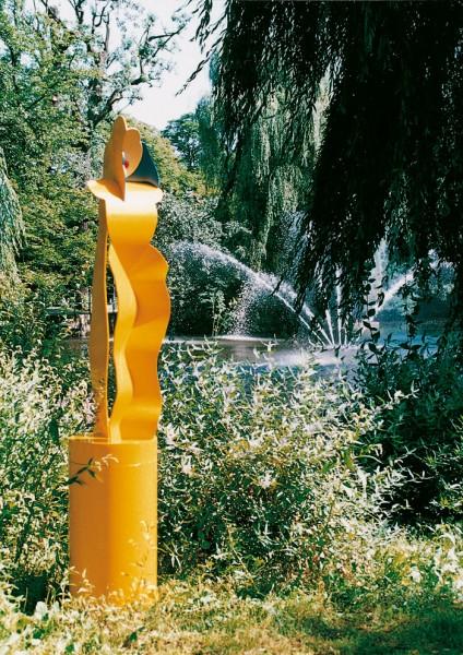Allen Jones, Yellow Figure, 1996