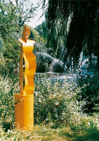 Allen Jones, Yellow Figure, 1996