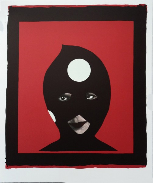 Marcel Dzama, Warhol's Pawns - Red, 2013