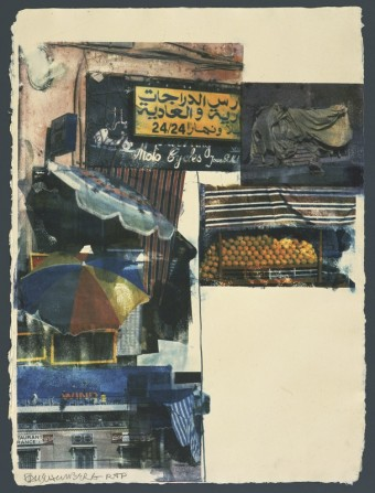 Flaps by Robert Rauschenberg