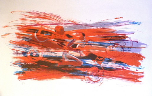 Allen Jones, Fast Car, 1996