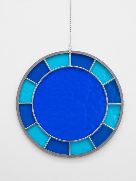 Ugo Rondinone, blue blue blue clock, 2012