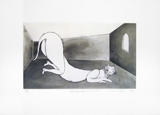 Louise Bourgeois, Champfleurette, the white cat, 1994