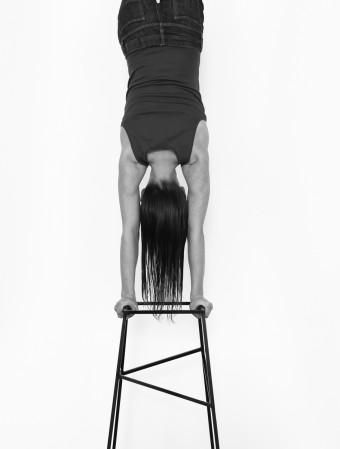 Handstand by Eva Rothschild