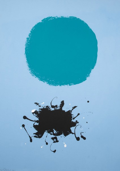 Adolph Gottlieb, Black Splash, 1969