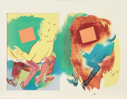 Allen Jones, Two Part Invention, 2012