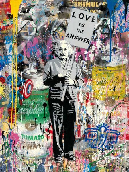 Mr. Brainwash, Einstein, 2019